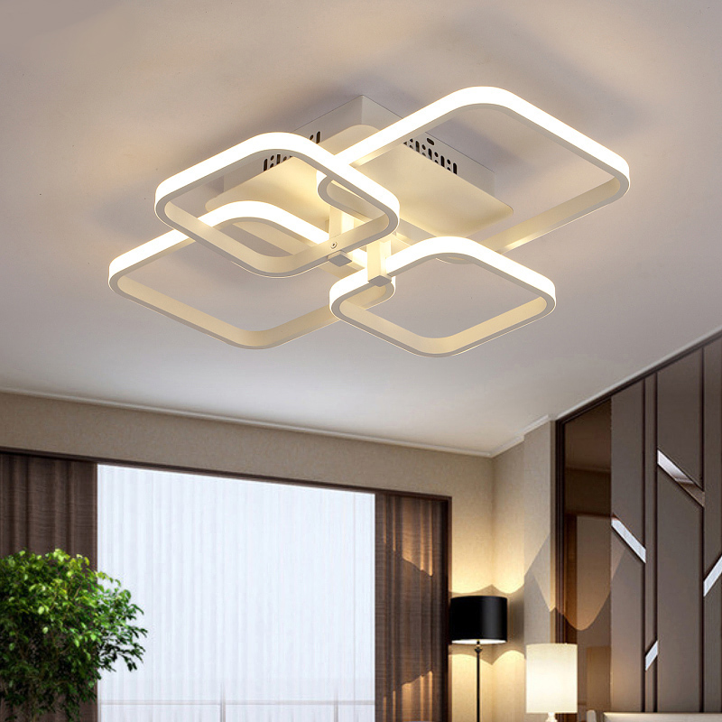 Remote control living room restaurant indoor light led ceiling lights luminarias para sala dimming ceiling light free shipping children lamp creative led ceiling lights remote control dimmer color cartoon absorb living room restaurant superior hotel et36