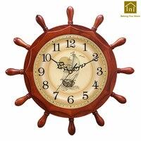 Wood Mute Large Creative Wall Clock Living Room Designer Wall Clocks Digital Reloj De Pared Watch Saat Decoration Tools WKP146