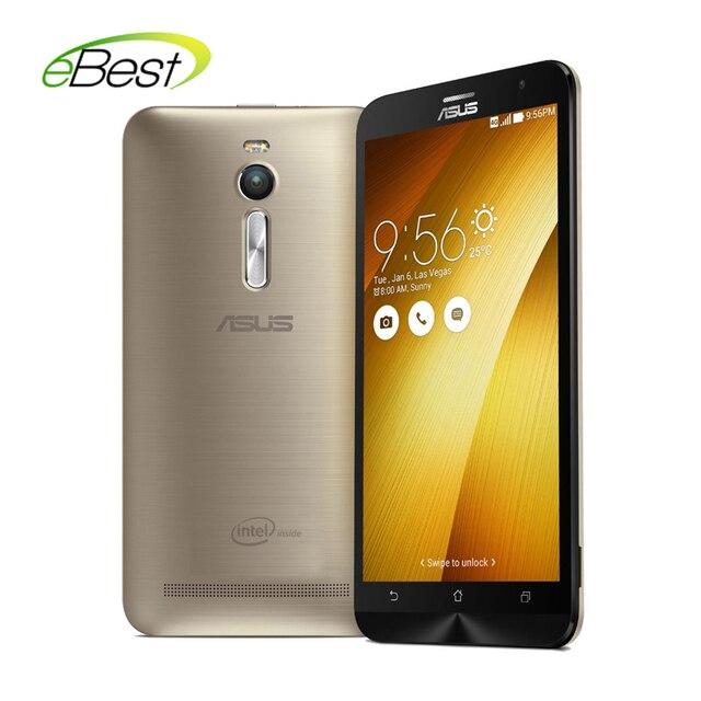 "Original Asus ZenFone 2 ZE551ML 4G mobile phone FDD LTE Intel Z3560 Quad Core CPU 1.8GHz 5.5"" 1080P NFC phone"