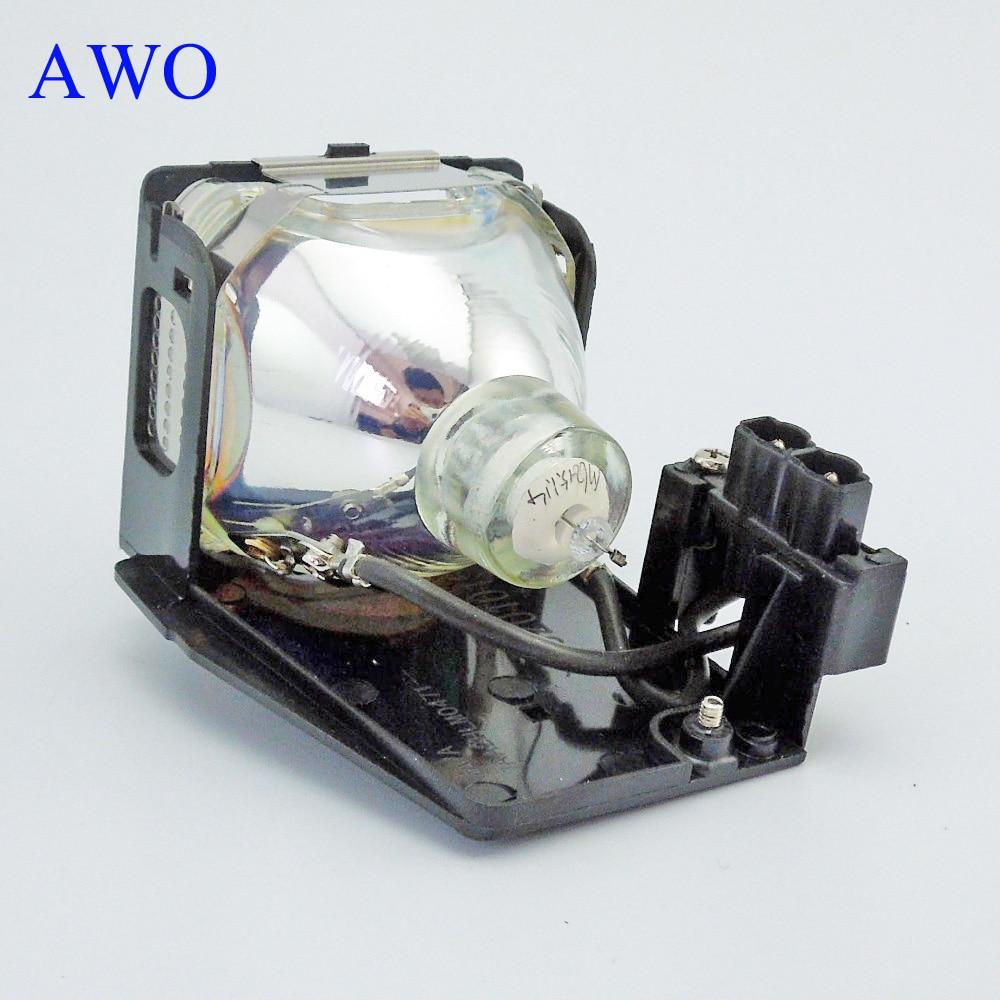 AWO Заміна проектора лампи POA-LMP55 для SANYO - Домашнє аудіо і відео - фото 3