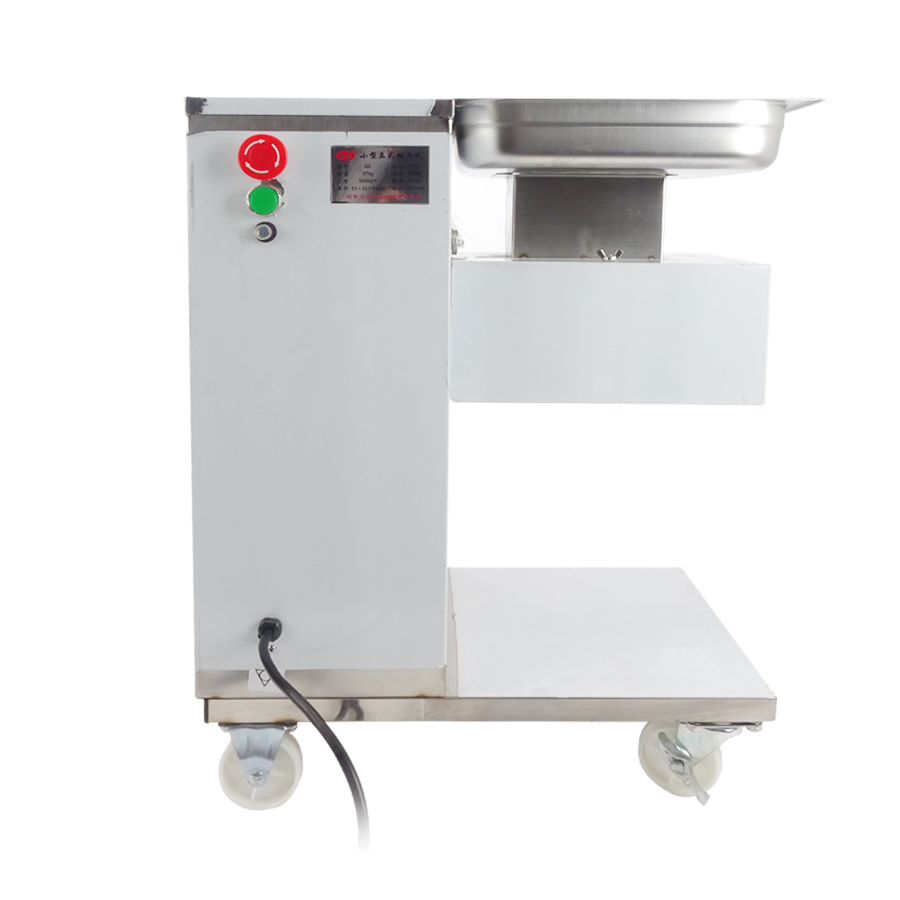 Commercial meat slicer QE meat cutter with pulley, meat slicer cutter, meat cutting machine 220v / 110V 1pc itop 10 blade premium meat slicer electric deli cutter home kitchen heavy duty commercial semi automatic meat cutting machine