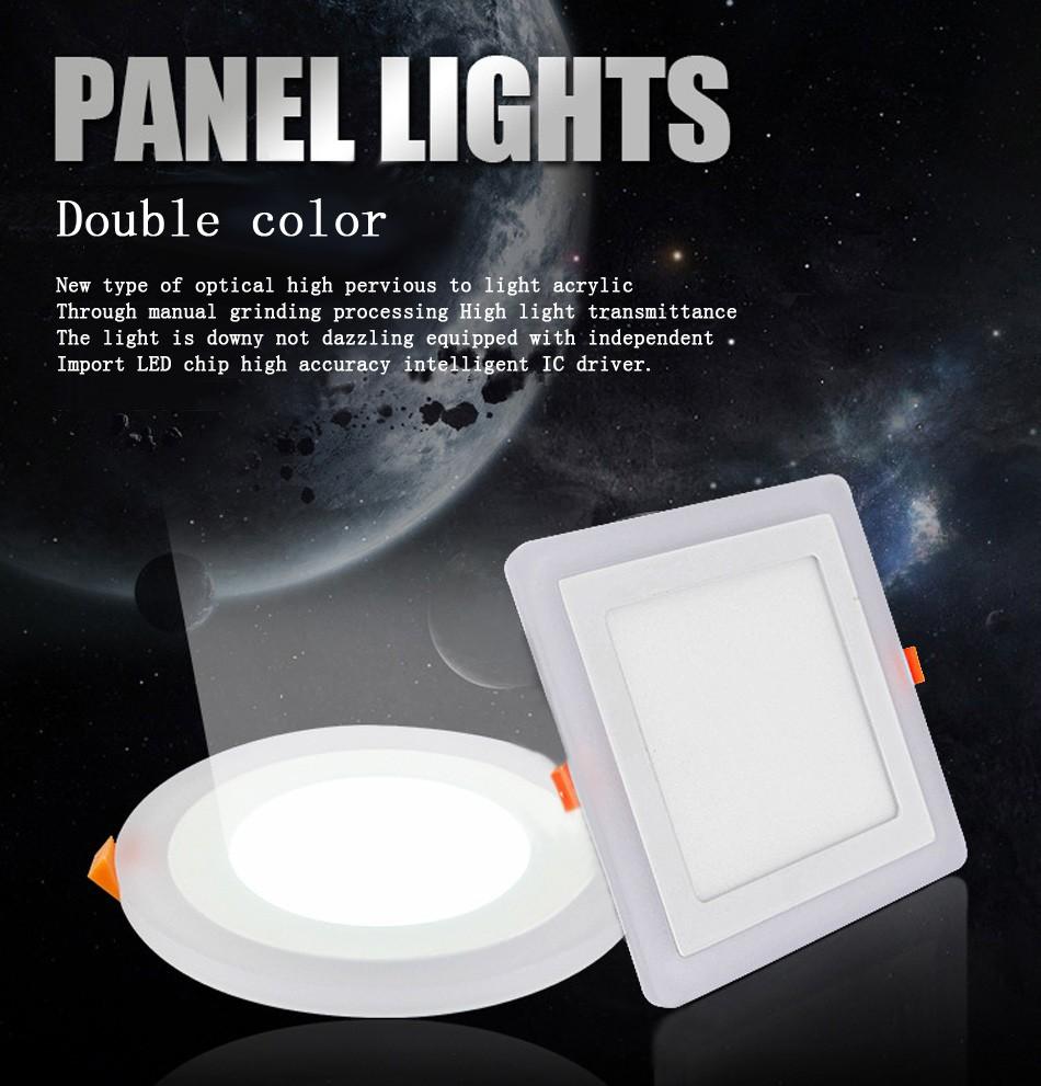 Double color led panel (56)