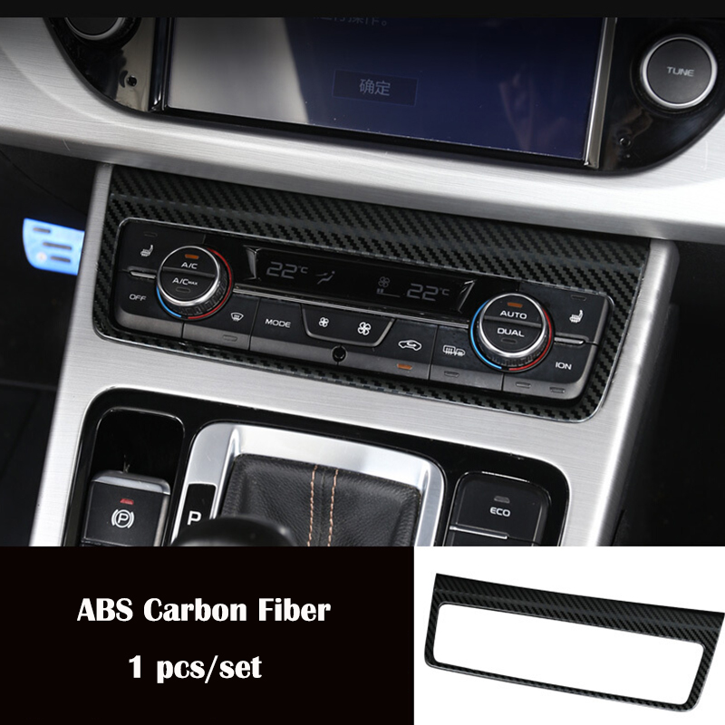 For <font><b>Geely</b></font> <font><b>Atlas</b></font> 2016 2017 2018 ABS Plastic Chrome Accessories Car Central Control Switch Button Frame Panel Cover Trim image