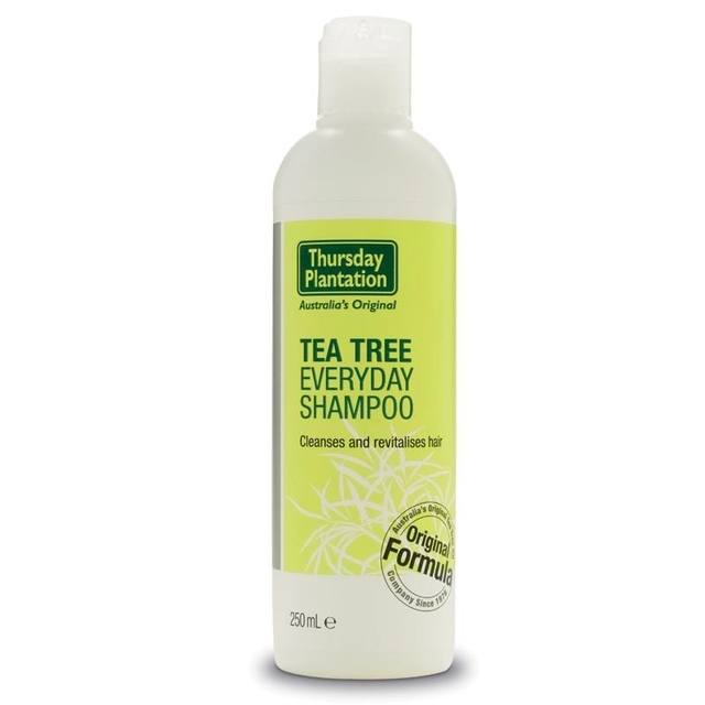 Thursday Plantation Tea Tree Everyday Shampoo 250ml to remove build up left from styling products, cleanse revitalise hair
