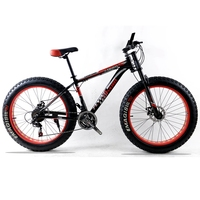 Bicycle Mountain Bike Aluminum Frame 21 24 Speed Shimano Mechanical Brakes 26 X 4 0 Wheels