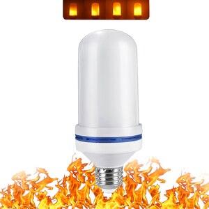 Image 5 - フルモデル 3 ワット 5 ワット 7 ワット 9 ワットE27 E26 E14 E12 炎電球 85 265v led炎効果火災電球ちらつきエミュレーション装飾ledランプ
