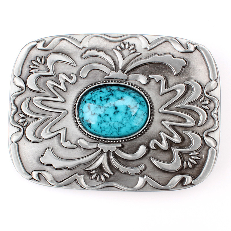 European And American Belt Buckles With Bead Buckles