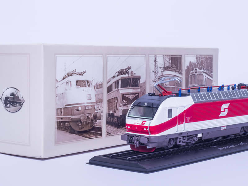 1:87 LIMITED Train Model COLLECTIONS ATLAS EDITIONS Rh 1012 001 2 (1997)