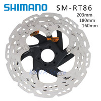 SHIMANO DEORE XT SM RT86 ice Point Technology Brake Disc 6 Bolt ROAD Mountain Bikes Disc Rotor 203mm 180mm 160mm