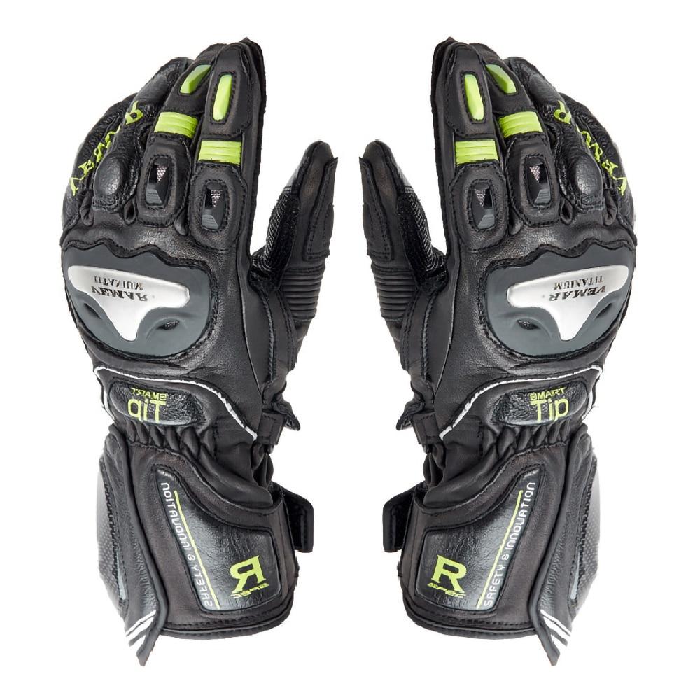 VEMAR rękawice motocyklowe oddychające profesjonalne rękawice kolarskie nadające się do noszenia ochronna Guantes rękawice motocyklowe motocykl rękawice motocrossowe