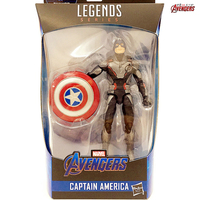 Captain America Figure Toys for Children Marvel Heroes Action Figures Avengers 4 Endgame Joints Can Be Active Model