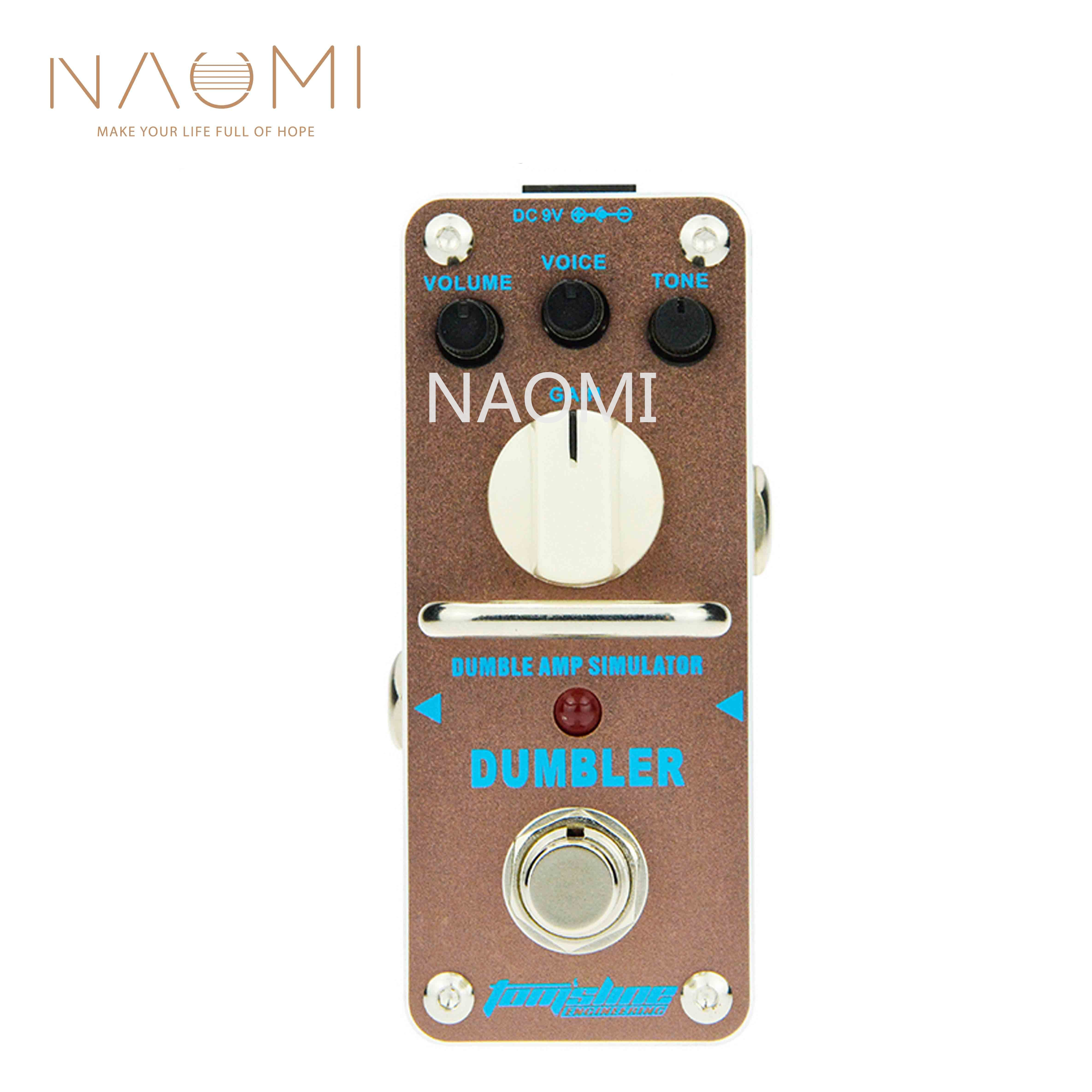NAOMI Aroma Guitar Effect Pedal ADR 3 Dumbler Based On The Tone Of Legendary Dumble Amp Smooth Dynamic Sound For Electric Guitar