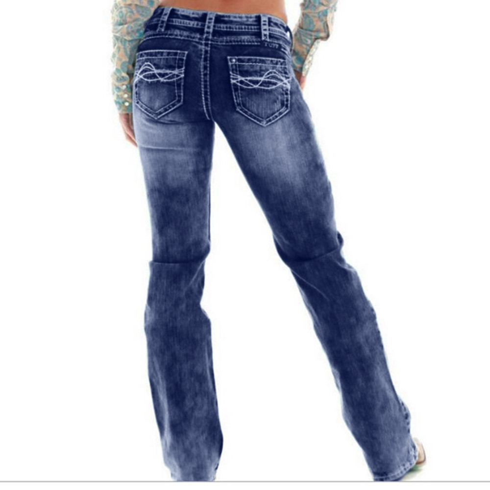 JAYCOSIN Clothes Skinny Women   Jeans   High Waist 5xl Denim Trousers Fashion Casual Embroidered Straight Slim   Jeans   Mujer Pants