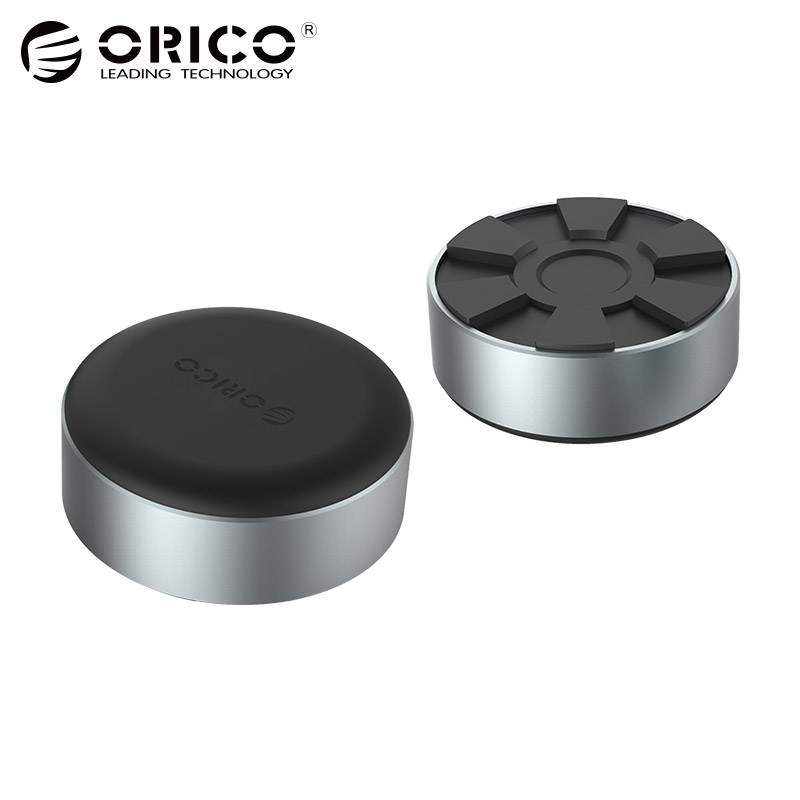ORICO Portable Aluminum Laptop Stand, Heat-dissipation Footpad for MacBook, Lenovo, Asus, Dell and More (ANS2)