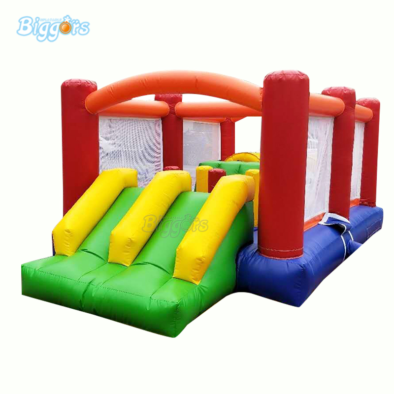 YARD Commercial Grade Inflatable Bounce House Obstacle Course Trampoline  For Kids YARD Commercial Grade Inflatable Bounce House Obstacle Course Trampoline  For Kids