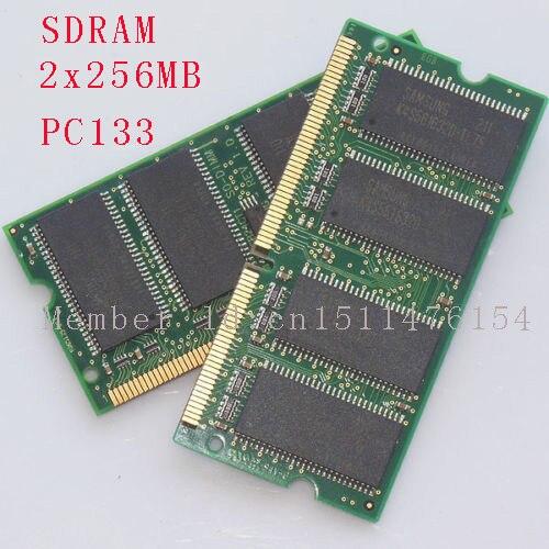 512 MB 2 x 256 MB PC133 133 MHz SO-DIMM mémoire d'ordinateur portable RAM Non - ECC 144pin SDRAM nouvelle livraison gratuite