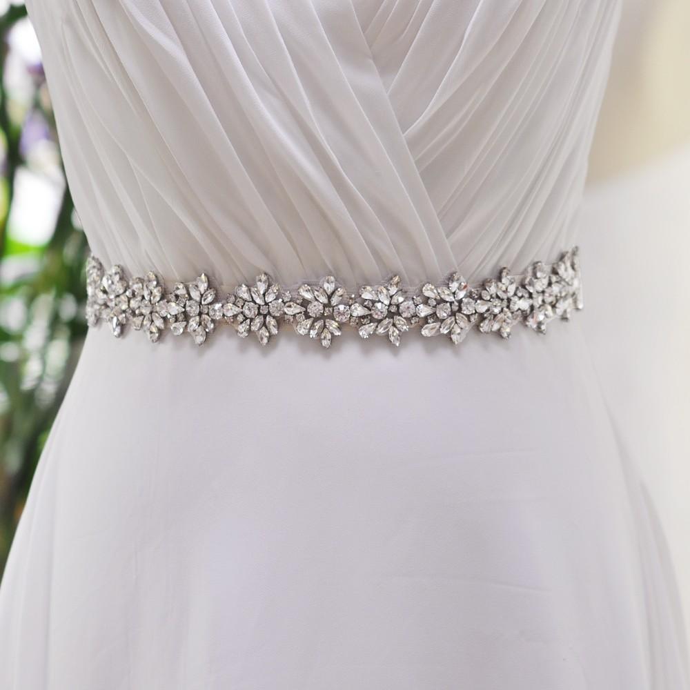 Pas do sukni ślubnej tanio