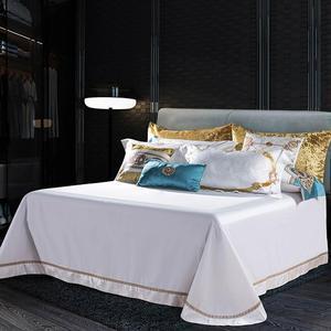 Image 3 - Svetanya white Brocade Bedding Set king queen double size Bedlinen