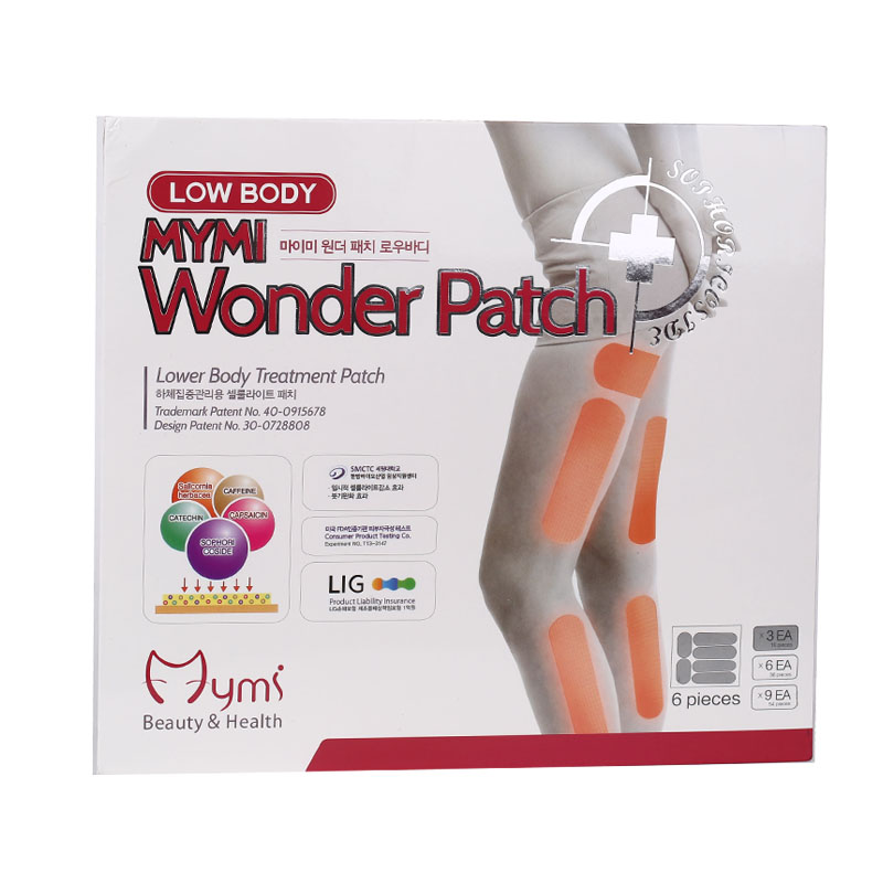 36 PCS/ 2Box MYMI Wonder Weight Loss Products Slim Patch For Legs And Arms Lose Weight Fat Burning Slimming Creams Health Care