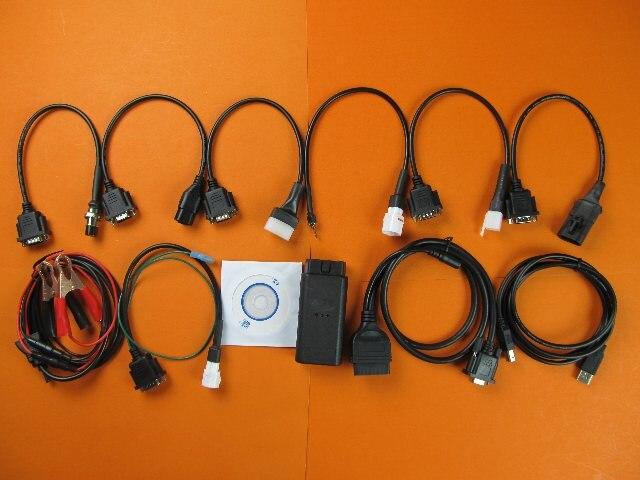 Multi-marke motorrad scanner für YAMAHA, SYM KYMCO, für SUZUKI, HTF, PGO und für HONDA 7in1