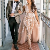 Модные вечерние платья Брюки вечернее платье выпускное платье платья рукава крылышки Длинные вечерние платья с аппликациями abiye
