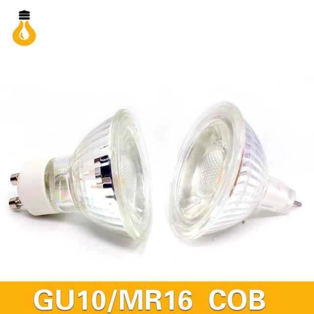 1 stks Klasse A + + 220 v MR16 GU10 12 w LED lamp hittebestendige ...