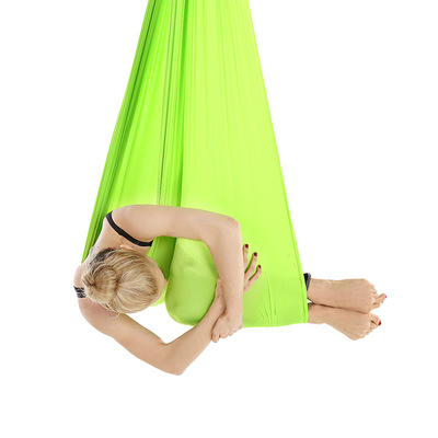 Hamac de Yoga aérien Premium Tissu Aérien D'oscillation De Yoga Anti-Gravité De Yoga - 3
