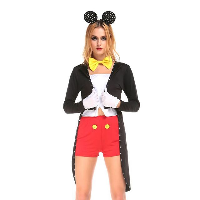 Minnie Maus Kostum Cosplay Joker Kostum Sexy Halloween Kostum Fur