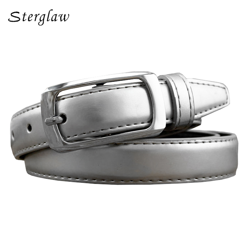 Brave 110cm 12color Summer Lady Wide Belt Woman Belts And Straps 2019 Casual Silliver Belt Female Lacquer With High Waist Jeans F137 Regular Tea Drinking Improves Your Health Women's Belts
