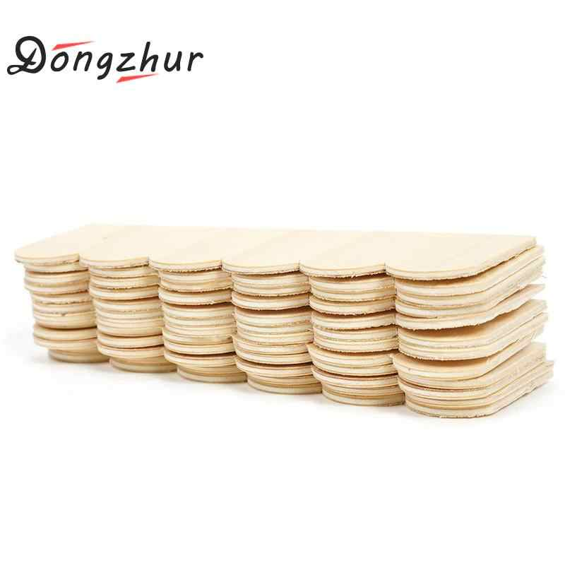 Dongzhur Wood Roof Tiles Dollhouse Miniatures 1:12 Accessories Poppenhuis Miniaturen 1:12 Wooden Tiles For DIY Doll House Toy