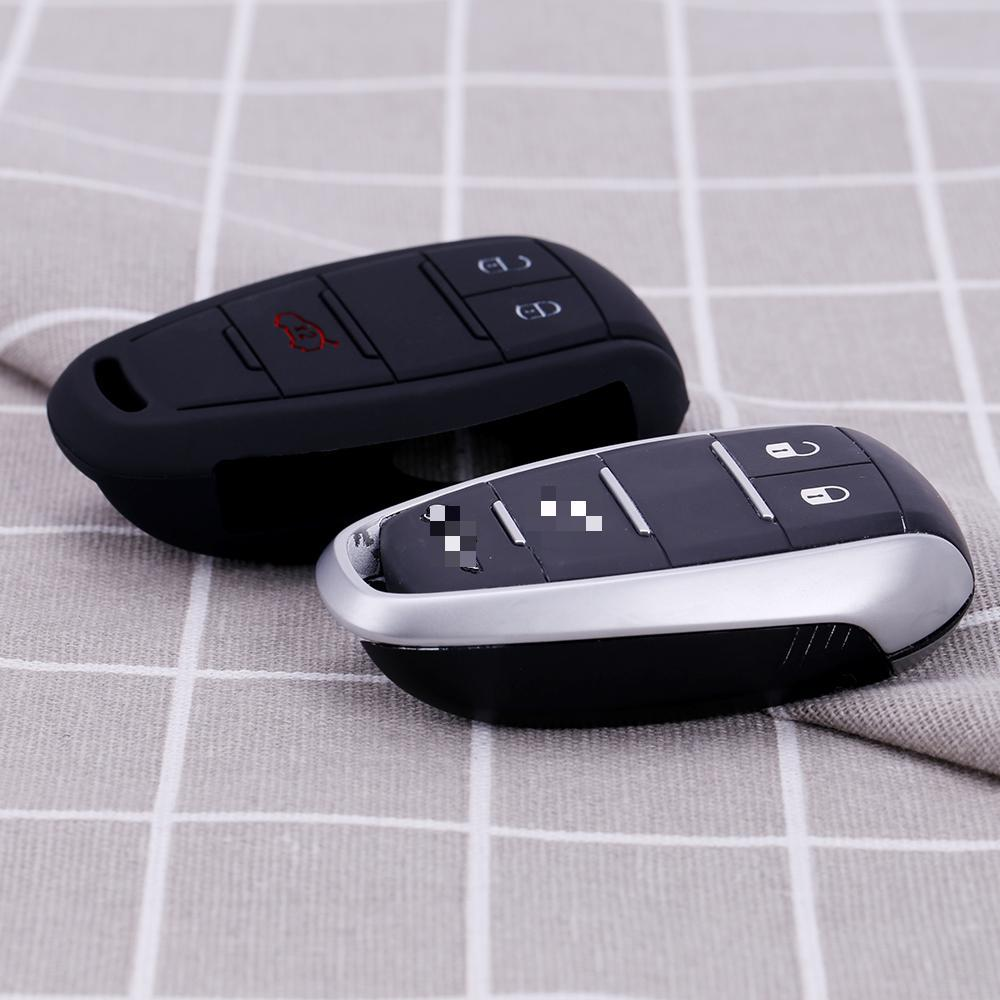Key Case For Car Silicone Key Cover 3 Button For Alfa