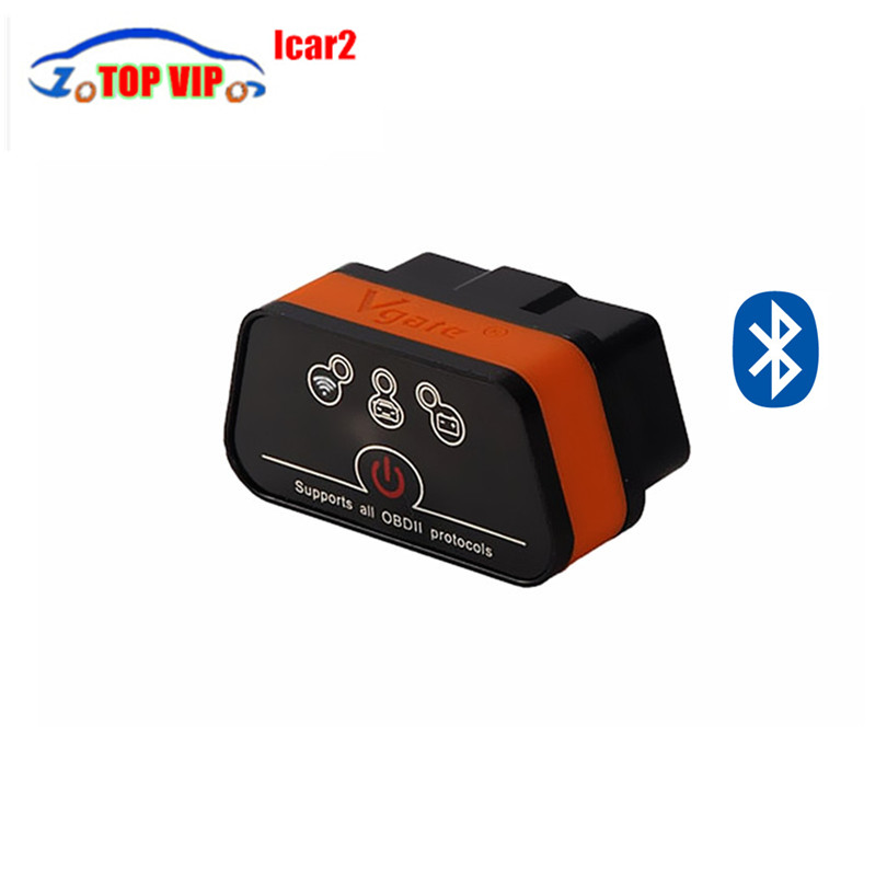 2018 Best Price iCar2 icar 2 Bluetooth ELM327 OBD2 Scanner For Android OBD Code Reader Auto Diagnostic-Tool Free Shipping