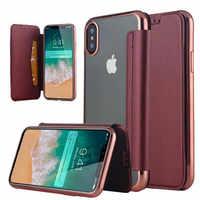 Étui pour iphone X 10 XR XS Max 5 5S SE 6 6S 7 8 8 Plus 11 2019 fentes pour cartes
