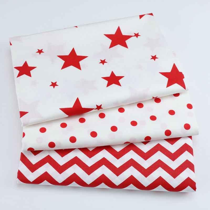 Christmas Arrow.160cm 50cm Cotton Fabric Nordic Wind Cartoon Red Black Christmas Elk Deer Star Arrow Chevron Fabric For Diy Crib Cushion Tissue