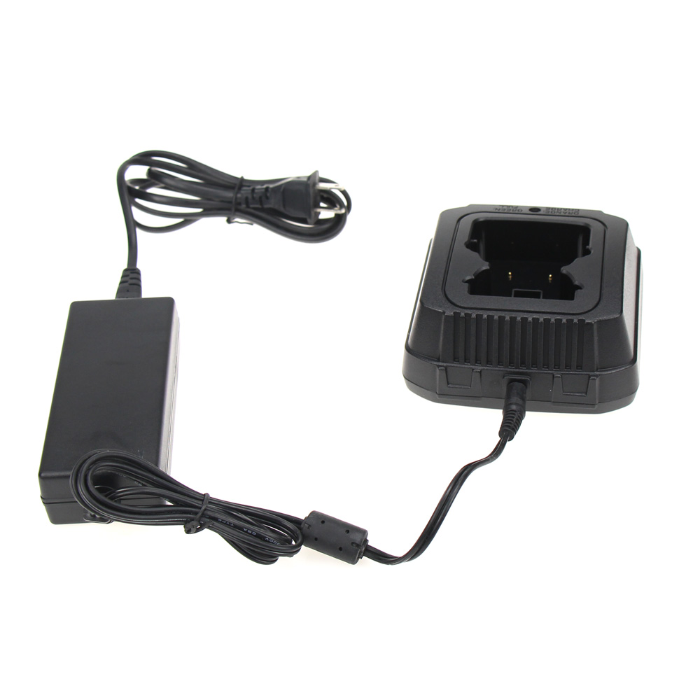 Desktop Rapid Battery Charger Base Set For Sepura Series Walkie Talkie  STP8000 STP9000 Ham Radio Hf Transceiver