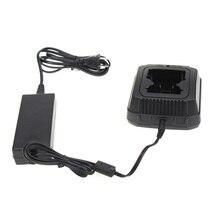 Ensemble de Base de chargeur de batterie rapide de bureau pour talkie walkie série Sepura STP8000 STP9000 émetteur récepteur Radio Hf