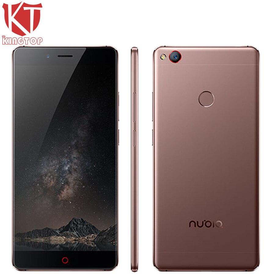 "Original ZTE Nubia Z11 4G LTE Mobile Phone 6GB RAM 128GB ROM Snapdragon 820 Quad Core 5.5"" Borderless 16MP NFC Fingerprint Phone"