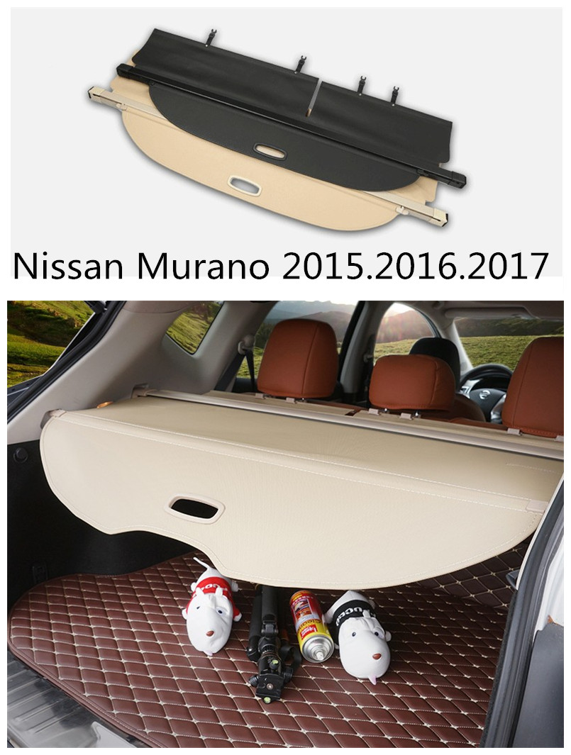 For Nissan Murano 2015.2016.2017 Rear Trunk Security Shield Cargo Cover High Quality Car Trunk Shade Security Cover