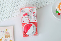 TYAYA Cute Fruit Earphones Candy Colorful 3 5mm In Ear With Micfor Mobile Phones Girls Child