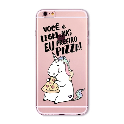 online store 94717 c1cdd US $2.59 |Cute Unicorn With Words Phone Cases For iPhone 6 6S 5 5s SE 7 8  Clever Cartoon Cat Soft TPU Phone Cover for iphone 7 Case-in Fitted Cases  ...