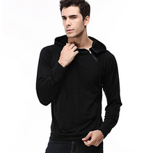 High Quality Stylish Men's Patchwork Hooded Sweatshirt Hoodie Inclined Zipper Tops Long Sleeve Pullover Autumn Winter Sportswear