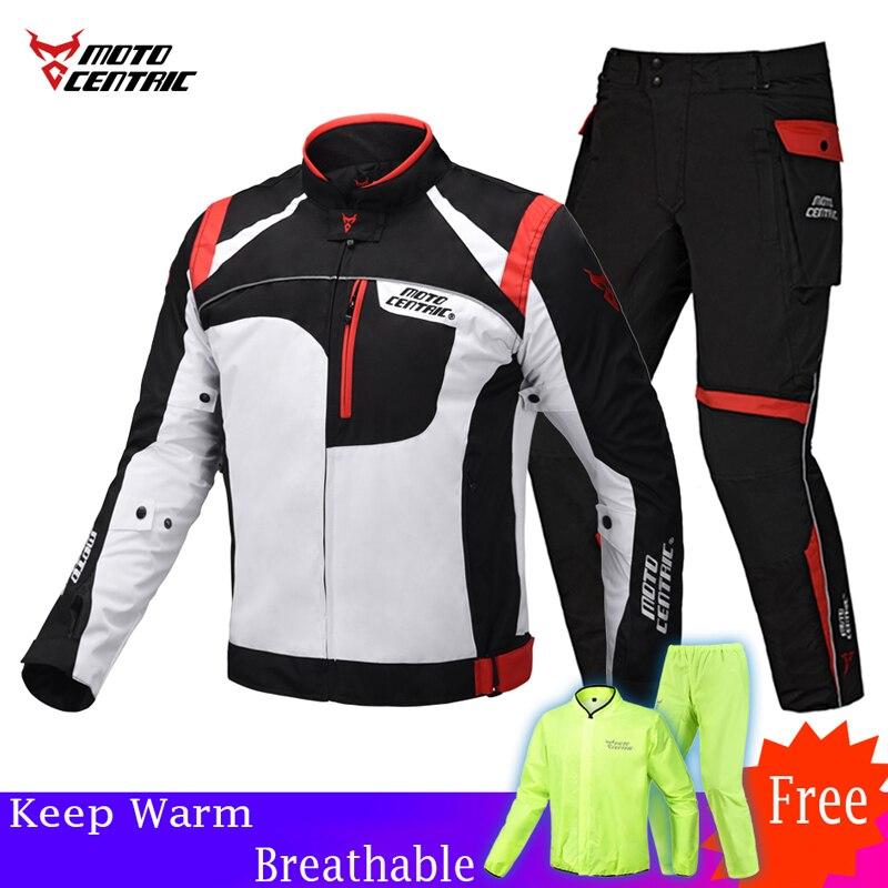New Spring Winter Reflective Motorcycle Jacket Men Moto Clothing Set Motorcycle Equipment Protection Motocross for Yamaha