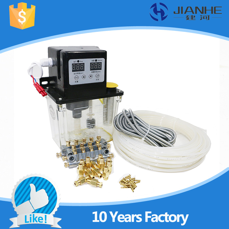 Full set central lubrication system with 13 Lubrication point CNC Digital electronic Timer Oil Pump 220V 1 5l details about auto lubrication pump cnc digital electronic timer lcd automatic oiler 220v