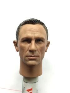 Image 3 - Агент Джеймс Бонд 1/6, головная игра Daniel Craig Head Scuplt, фигурка, игрушки, коллекция BB9002