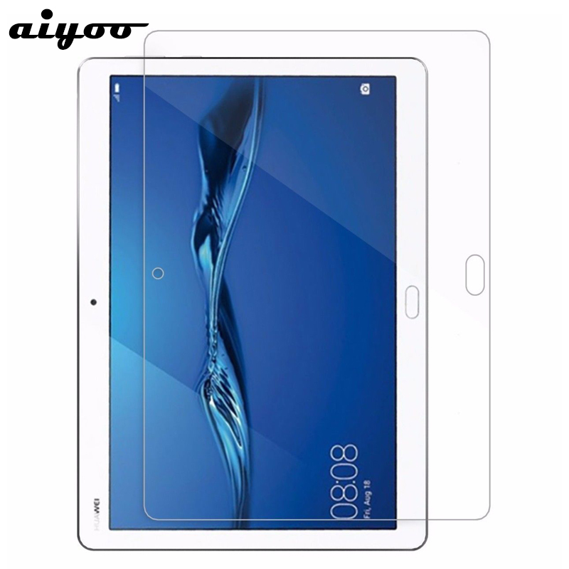 Aiyoo 9H Tempered Glass for Huawei MediaPad M3 Lite 10 Screen Protector Film for Huawei M3 Lite 10 10.1 inch Tablet Glass Film new 9h glass tempered for huawei mediapad t5 10 tempered glass screen film for huawei mediapad t5 10 inch tablet screen film