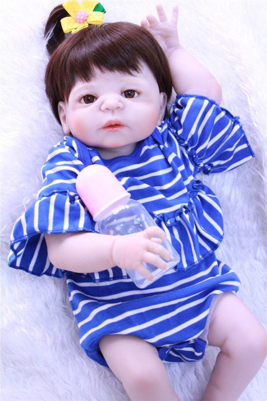 Bebes reborn silicone bébé poupées 23