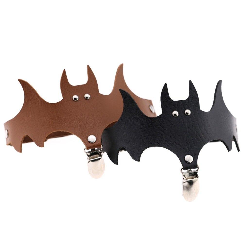 Apparel Accessories 1pc Lady Adjustable Halloween Bat Wing Thigh Leg Stockings Suspender Garter Belt Pu Leather Gift Bracelet Legs Bats Garters