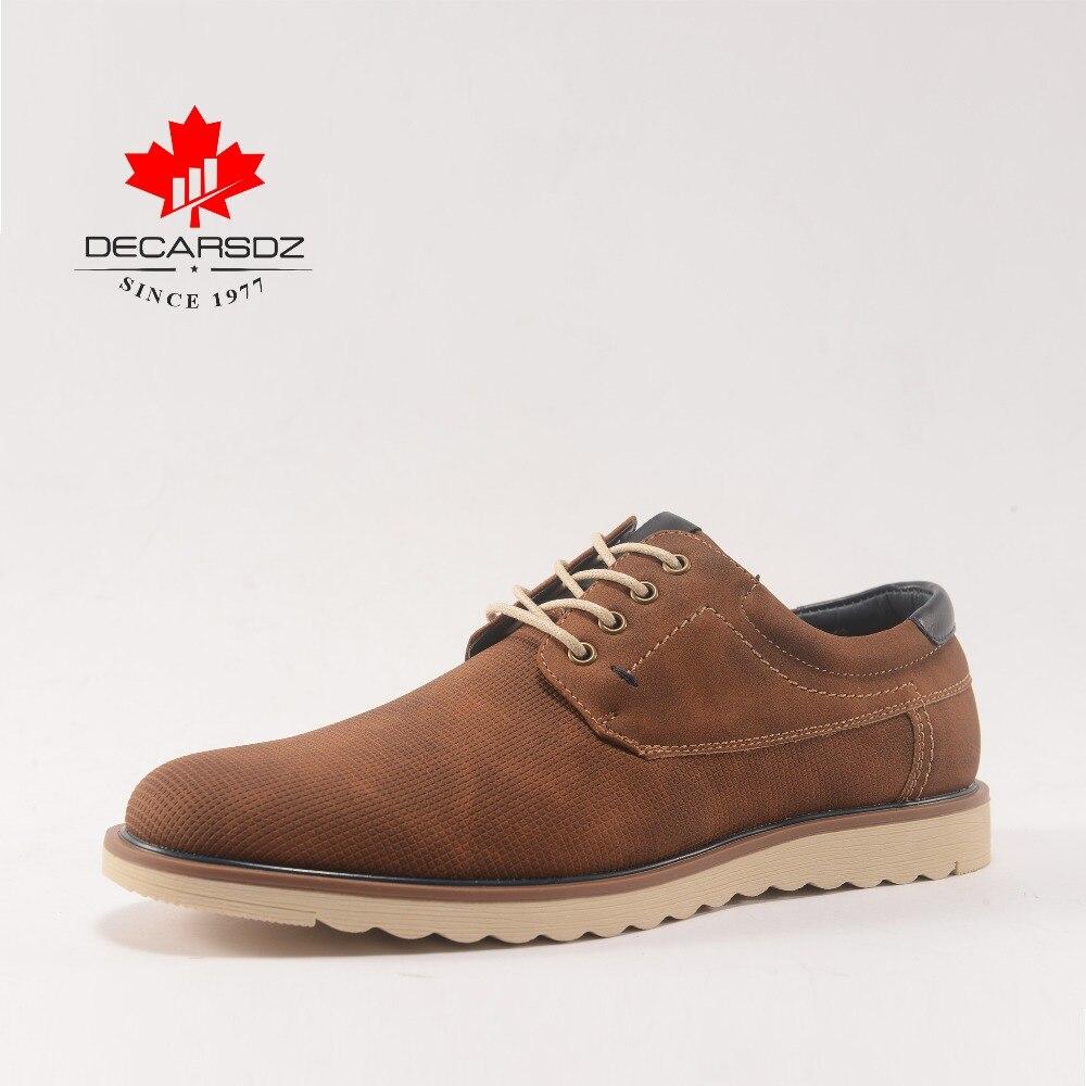 Mode chaussures pour hommes, DECARSDZ Qualité chaussures décontractées, Conception dans Paris, chaussures de marche, D'affaires Mâle Usure Confortable chaussures plates