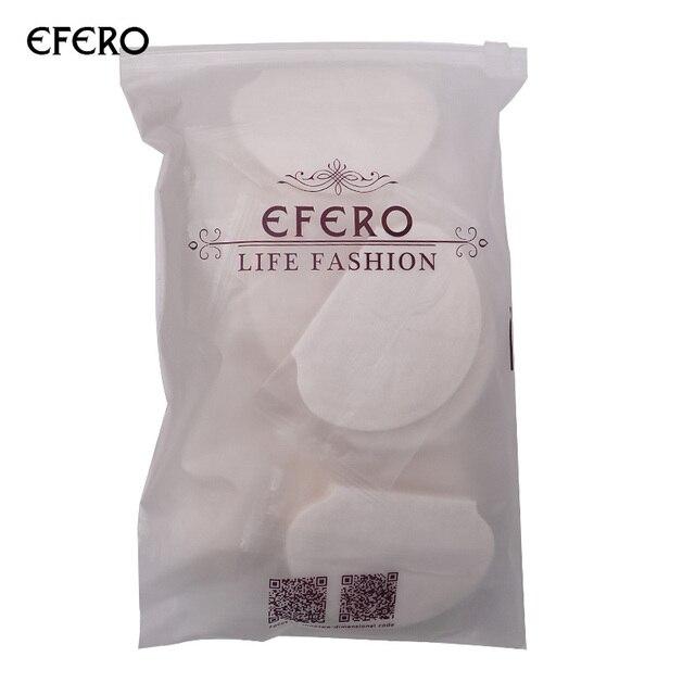 Efero desodorante almohadillas para el brazo axilas juntas para el sudor subbrazos almohadillas para el sudor axila absorbente Calcomanía para el brazo parche 50/100 piezas