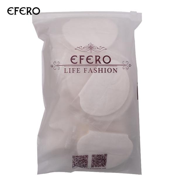 Efero desodorante en las axilas de las axilas sudor juntas sudor axilas sudor de axila absorbente las axilas parche adhesivo 50/100 piezas
